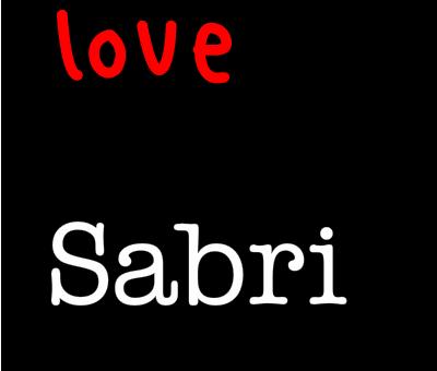I LOVE SABRI (3)