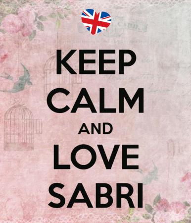 KEEP CALM AND LOVE SABRI (1)