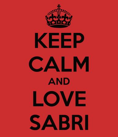 KEEP CALM AND LOVE SABRI (2)