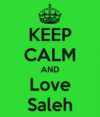 KEEP CALM AND LOVE SALEH (3)