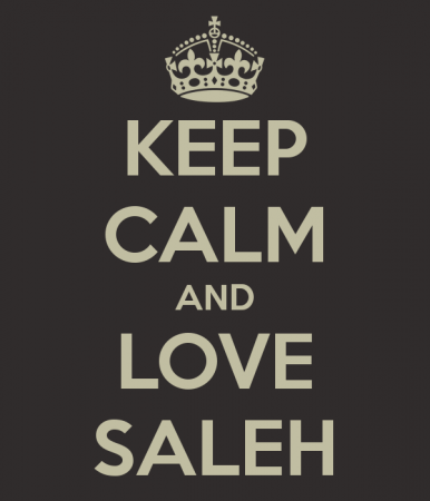 KEEP CALM AND LOVE SALEH (4)
