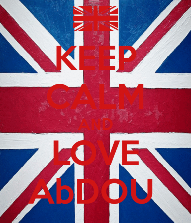 keep calm and love abdou (2)
