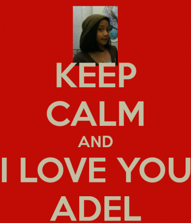 keep calm and love adel (1)