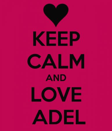 keep calm and love adel (4)