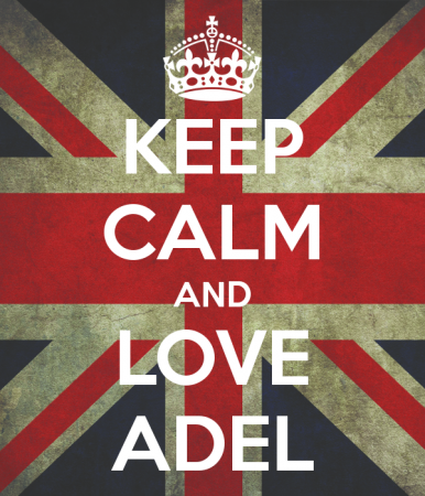keep calm and love adel (5)