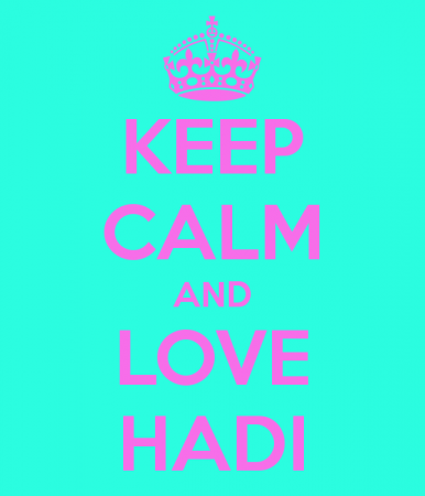 keep calm and love hadi (3)