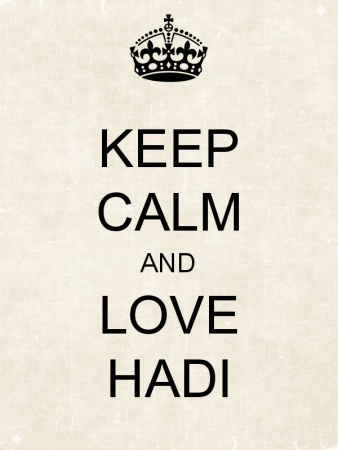 keep calm and love hadi (5)