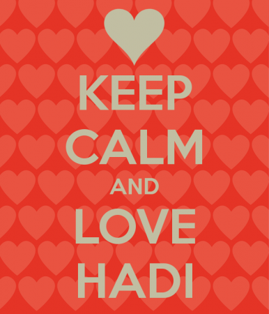 keep calm and love hadi (6)