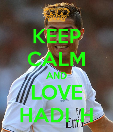keep calm and love hadi (8)