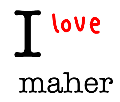 keep calm and love maher (2)