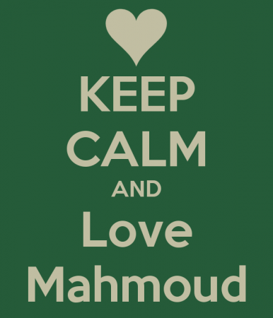 keep calm and love mahmoud (3)
