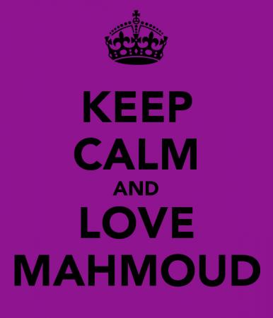 keep calm and love mahmoud (4)