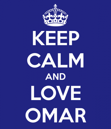 keep calm and love omar (1)