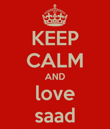 keep calm and love saad (2)