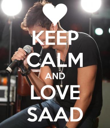 keep calm and love saad (3)