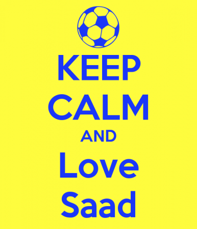 keep calm and love saad (4)