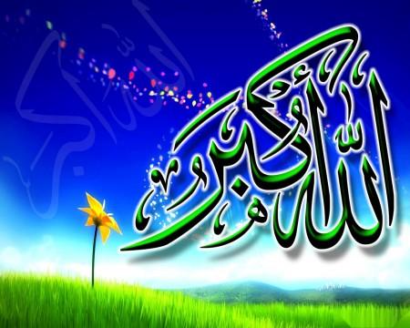 الله اكبر مكتوبة علي صور (1)