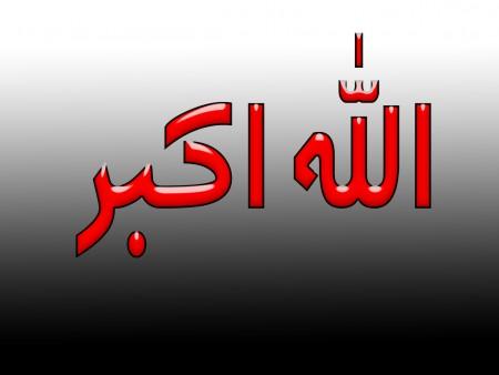 الله اكبر مكتوبة علي صور (3)