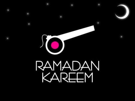رمضان كريم فانوس وهلال رمضان (2)