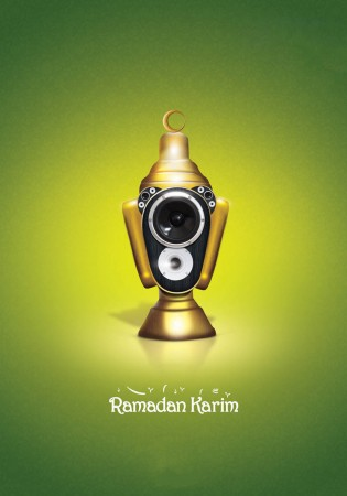 رمضان كريم فانوس وهلال رمضان (3)