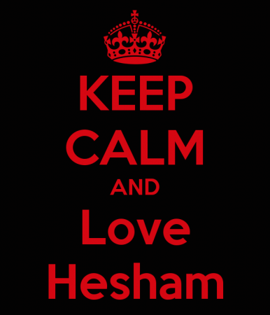 keep calm and love hisham (3)