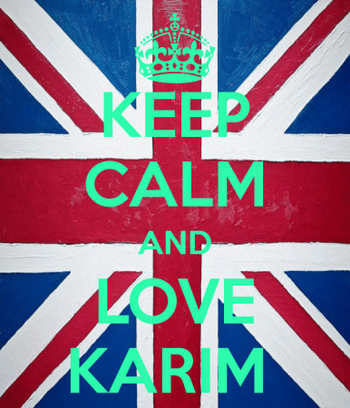 keep calm and love karim (5)