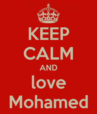 keep calm and love mohamed (1)