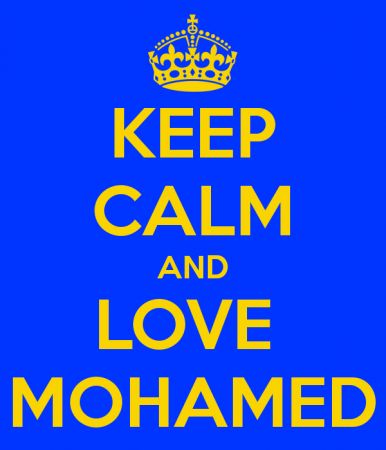 keep calm and love mohamed (2)