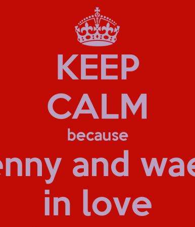 keep calm and love wael (2)