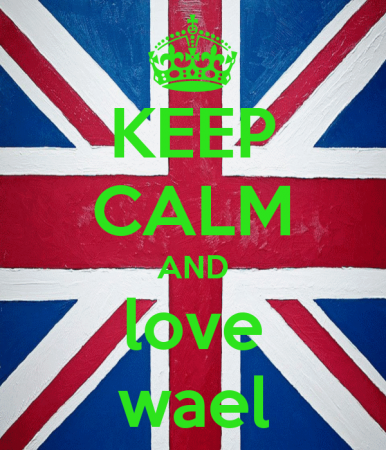 keep calm and love wael (4)