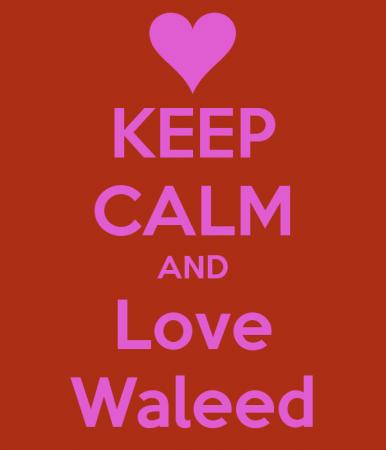 keep calm and love waleed (3)