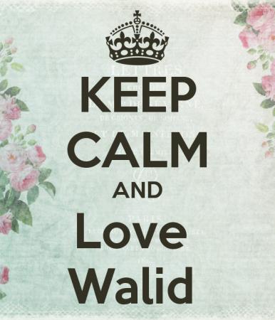 keep calm and love waleed (4)