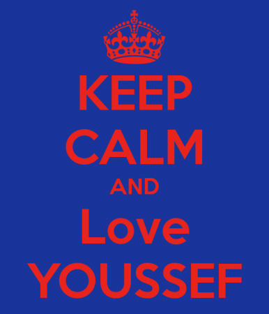 keep calm and love youssef (1)