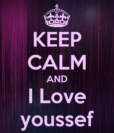 keep calm and love youssef (6)