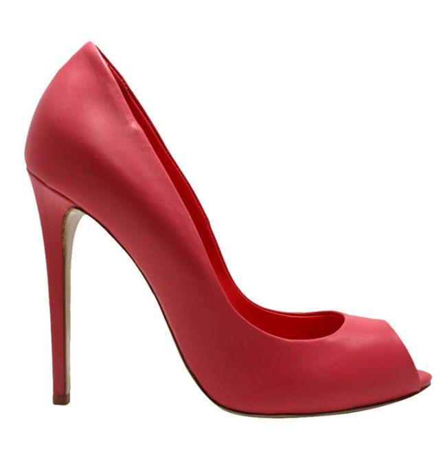 اجمل احذية بنات حمراء (1)