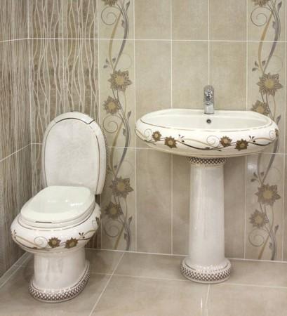 ديكور حمامات سيراميك (2)