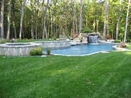 شكل حمام سباحة منزلي (3)