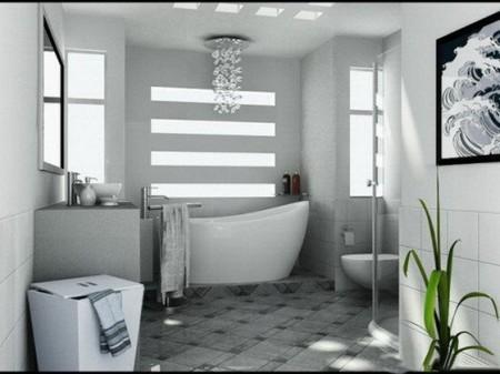 صور حمامات حديثة (6)