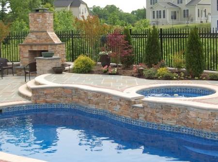صور حمامات سباحة منزلية (4)