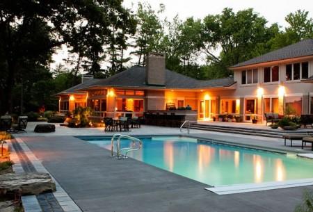 تصميمات حمامات سباحة (3)