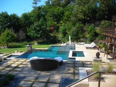 تصميم حمام السباحة (4)