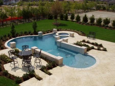 حمامات سباحة بالصور بتصميمات فخمة للفلل (3)