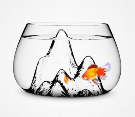 ديكورات وافكار الاسماك في الشقق والفلل (4)