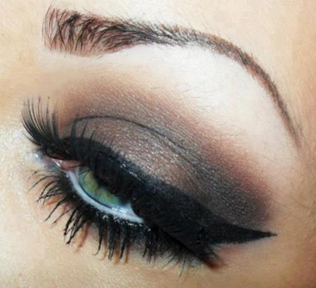 مكياج عيون أخضر (3)