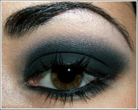 مكياج عيون خفيف (1)