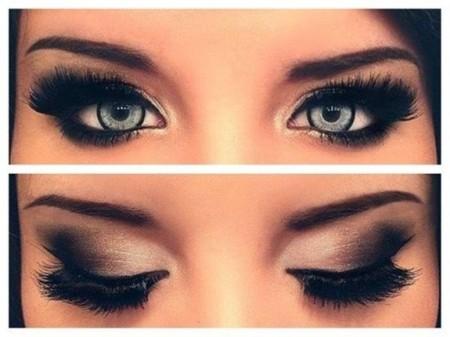 مكياج عيون خفيف (2)