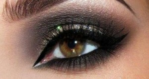 مكياج عيون خليجى (3)