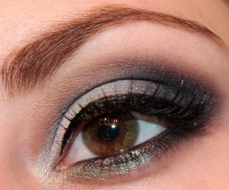 مكياج عيون سموكي (1)