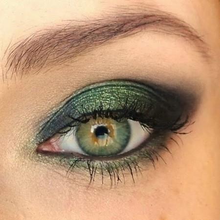 مكياج عيون سموكي (3)