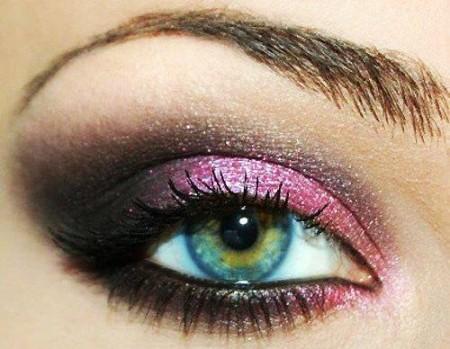 مكياج عيون ناعم (3)